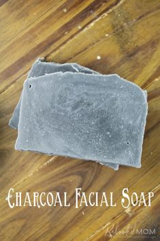 Activated charcoal is wonderful way to support healthy, radiant skin. Find out how to make your own charcoal facial soap bars! #coldprocessedsoap #CPsoap #soapmaking #charcoal #beauty