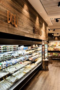 Natural Fresh Grocer///New brand identity and store design for the launch of Natural Fresh Grocer in Westfield Burwood.