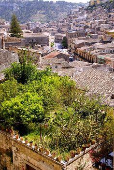 Modica Alta, Sicily, Italy