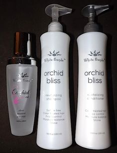 Review, Before/After Photos: Botox For Your Hair? White Sands Orchid Bliss Treatment Set - Shampoo, Conditioner, Serum Oil Mends Split Ends,...
