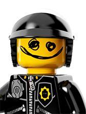Scribble Face Bad Cop