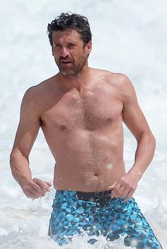 Patrick Dempsey, 50 On Vacation in St. Barts