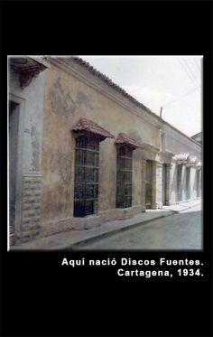 Fundación de Discos Fuentes en Cartagena, 1934