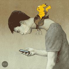 Collection of my animations of Pawel Kuczynski illustrations.   #Pokemongo…