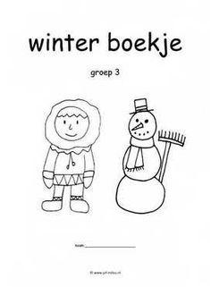 Thema werkboekjes ~ Juf Milou Winter Wonderland Birthday, Aperol, Winter Beauty, Winter Kids, Winter Trees, Winter Colors, Winter Solstice, Craft Activities For Kids, Teaching