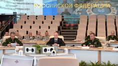 Putin oversees planned military drills on countering nuclear strike