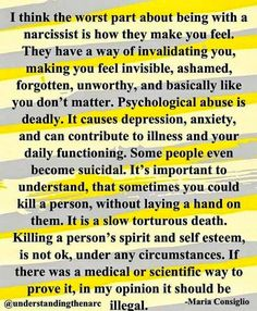 I was with a narcissist for — and I had NO idea 😢 How does this happen? I️ will raise my daughter so she is more aware of different forms of subtle abuse and their severity! Narcissistic People, Narcissistic Mother, Narcissistic Behavior, Narcissistic Abuse Recovery, Narcissistic Sociopath, Narcissistic Personality Disorder, Narcissistic Boyfriend, Sociopath Traits, Narcissist Quotes