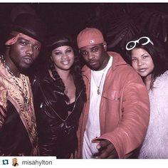 Treach, Pepa, Case, Misa Hylton Misa Hylton, Hip Hop And R&b, All Fashion, Good Old, Black People, Hair Trends, Good Music, Famous People, Rap