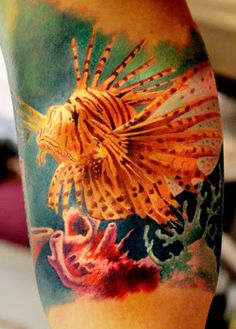 ..lionfish tattoo..