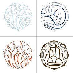 Elemental Symbols by Water Elemental Symbols