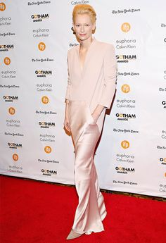 Tilda Swinton at the Independent Filmmaker Project's 24th Gotham Independent Film Awards, December 2014. Photo: Cindy Ord / Getty Images. via Buro 24/7 http://www.buro247.ru/events/photo-reports/tceremoniya-nagrazhdeniya-premii-gotham-independen.html
