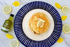 I absolutely love pancakes and admittedly have them far too often! Gin Recipes, Syrup, Camembert Cheese, Pancakes, Pineapple, Fruit, Food, Pinecone, Pancake