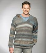 Man's pullover w/hood