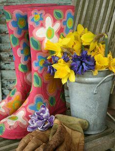 Weekend DIY: Boots | Willard and May Outdoor Living Blog