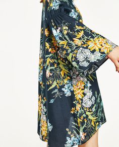 Image 6 of FLORAL PRINT DRESS from Zara
