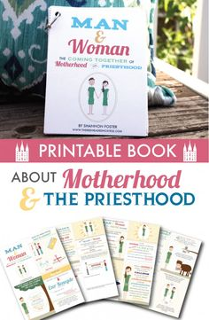 Motherhood and Priesthood Flip Book (and full-size images)