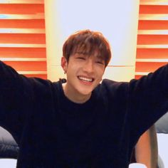 I have a really strong desire to hug Chan. Stray Kids Chan, Felix Stray Kids, Sung Lee, Chris Chan, Young K, Kids Icon, Wow Art, Day6, Lee Know