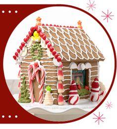 Gingerbread house decorating contest   King Arthur Flour
