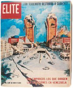 PerdidosenelArchivo  6 meses antes del Terremoto, la revista Elite publicó un reportaje del periodista Luis Duque titulado: ¿Un terremoto destruirá a #Caracas?