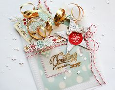 Christmas Joy Pocket with set of tags2