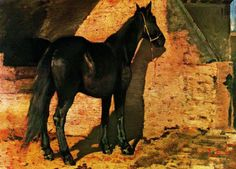 Giovanni Fattori (Black Horse in the Sun)