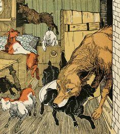 "Carl Fahringer ""Волк и Семеро Козлят"""