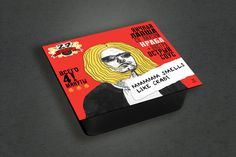 Club 27 – Instant Noodles on Packaging of the World - Creative Package Design Gallery