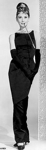 Designer Givenchy Year 1961 Type Sheath little black dress Material Italian satin