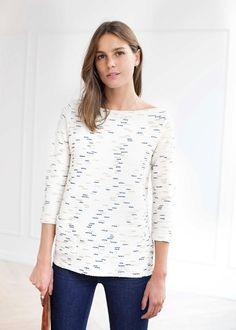 TShirt Charlotte - Lookbook Capsule Octobre - www.sezane.com #sezane #lookbook #tshirt #charlotte #capsule #octobre