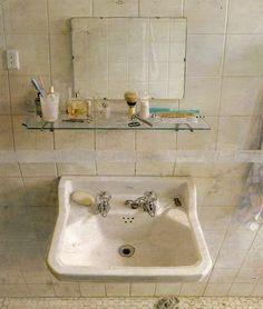 Sink and Mirror by Antonio López García, 1967