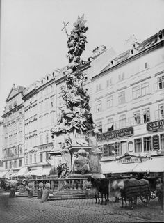 Wien 1, Pestsäule | Stauda, August