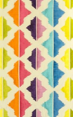 Caribbean Islands fabric from Aldeco, Portugal.