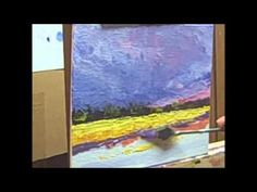 Acrylic Palette Knife Painting Techniques - Lesson 4 of 4 - YouTube