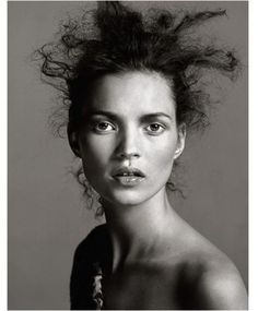 Richard Avedon - Kate Moss This is a good picture of kate moss wild and free i think what Richard Avedon is saying is that. We can all be young and free but know should care what you look like it what counts on the inside.