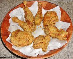 Dominican style Fried Chicken/Pica Pollo (Pollo Frito) Dominicano