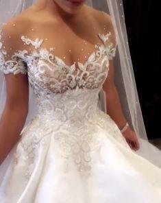 ღ sαℓσмé ∂єsєrτ ღ: uploaded by on We Heart It Dream Wedding Dresses, Bridal Dresses, Wedding Gowns, Wedding Dress Accessories, Princess Wedding, Wedding Attire, Beautiful Gowns, Dream Dress, The Dress