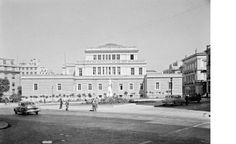 The Old Parliament Building, present-day National History Museum. Athens History, Greece History, National History, City People, Athens Greece, History Museum, Present Day, Back In The Day, The Past