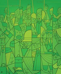 Hags Bags by Ale Giorgini #grafica #illustrazione #pattern