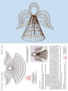 Bobbin lace 3 d Bobbin Lace Patterns, Crochet Patterns, Bobbin Lacemaking, Lace Art, Holiday Crochet, Lace Jewelry, Arte Popular, Needle Lace, Beaded Ornaments