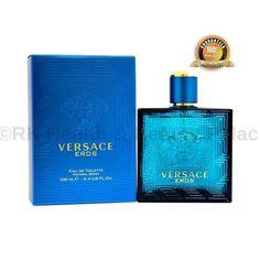 VERSACE EROS EDT PERFUME SPRAY, 3.4 OZ FOR MEN ORIGINAL SEALED PRODUCT! #Versace