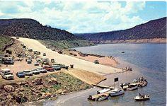Flamingo Gorge Springs. Utah -Wyoming postcard. hagins collection.