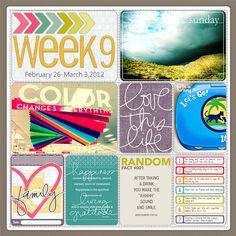 #projectlife page inspiration