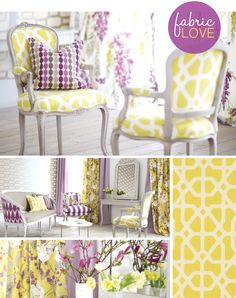 Fabrics and color combos