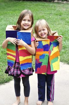 God's Little Explorers: Week 6 (C is for Colors + Joseph) Children love to paint especially a coat of many colors like Joseph's coat in the Bible!