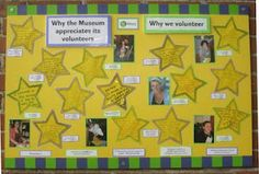 Special Volunteer Recognition Board would look good in the main hallway.