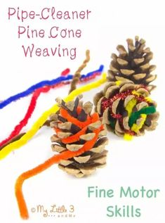I'm so excited to have a guest on Rainy Day Mum today with a great little craft that would be perfect for some quick and simple tree ornaments as well. So I'm now handing over Winter Activities For Kids, Christmas Activities, Kids Christmas, Toddler Activities, Pinecone Crafts Kids, Pine Cone Crafts, Autumn Crafts, Nature Crafts, Kid Crafts