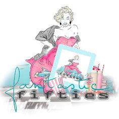 """<p style=""""text-align: center;""""> <span style=""""font-size: 16px;"""">Kit """"Fifties Fever 1"""" by Doudou's Design</span></p>"""