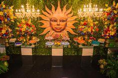 Festa Tema Tomorrowland: mesa de doces - Foto: Bruno Felipe Fotografia
