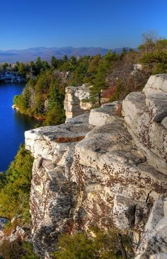 Autumn Minnewaska - Minnewaska 051 North Lake - Lake Minnewaska
