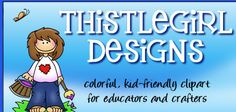 The BEST website for teacher clip art, graphics, web sets, ect...Every Pre-K to Primary teacher should know about this artist!